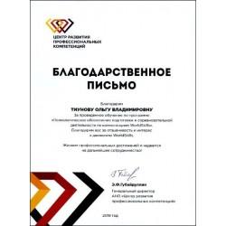 Психологическое обеспечение подготовки и соревновательной деятельности по компетенциям WorldSkills