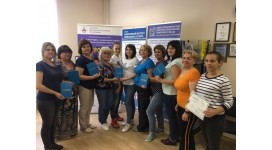 Завершился очередной обучающий семинар по «Скандинавской ходьбе» для специалистов ЦСО Московской области